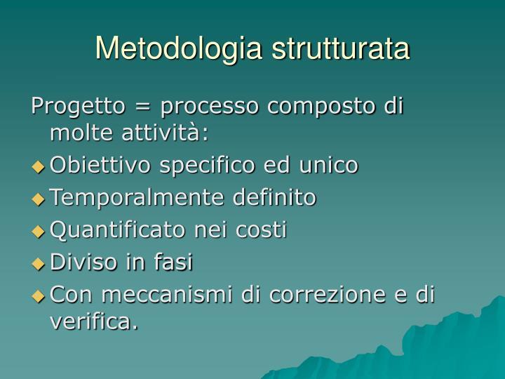 Metodologia strutturata