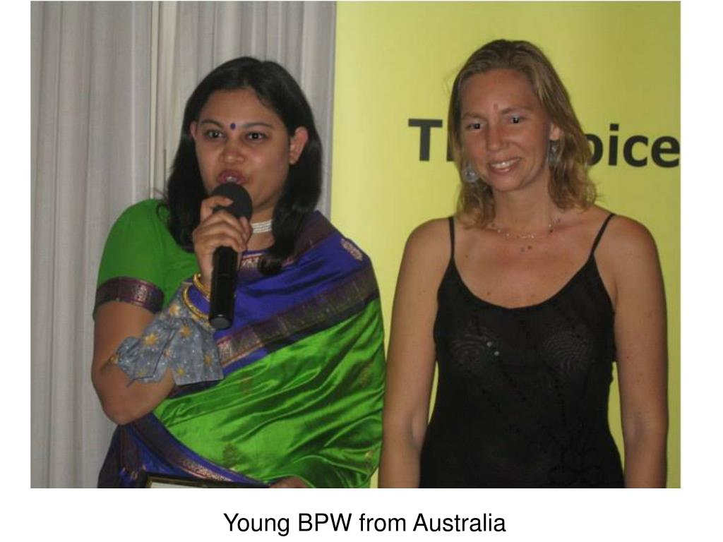 Young BPW from Australia