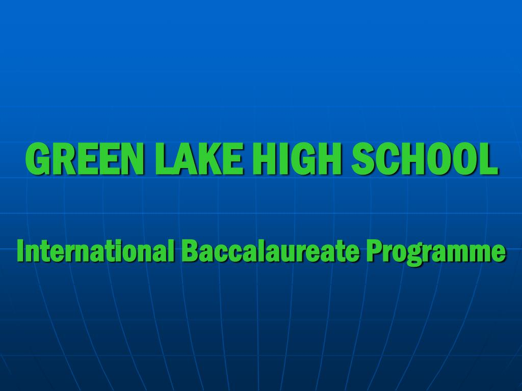 green lake high school l.