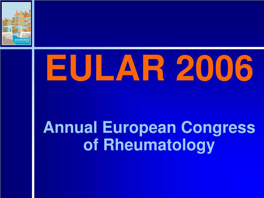 EULAR 2006