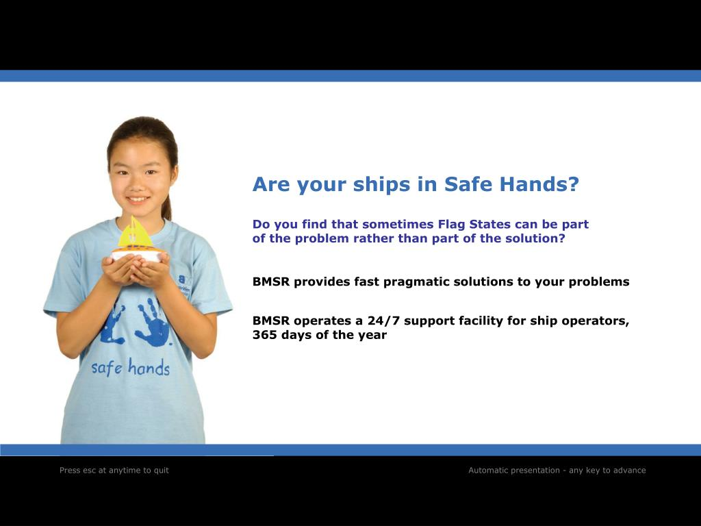 Are your ships in Safe Hands?