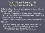 international law and its implications for the s mi