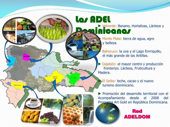Las ADEL Dominicanas