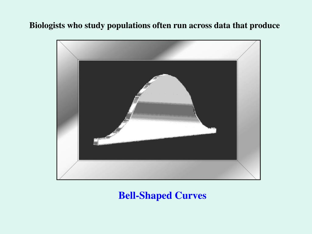 Biologists who study populations often run across data that produce