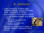 b melitensis