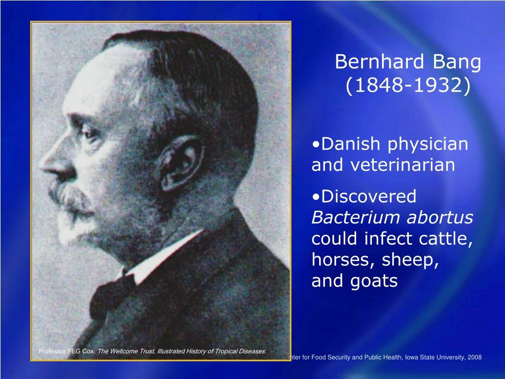 Bernhard Bang (1848-1932)
