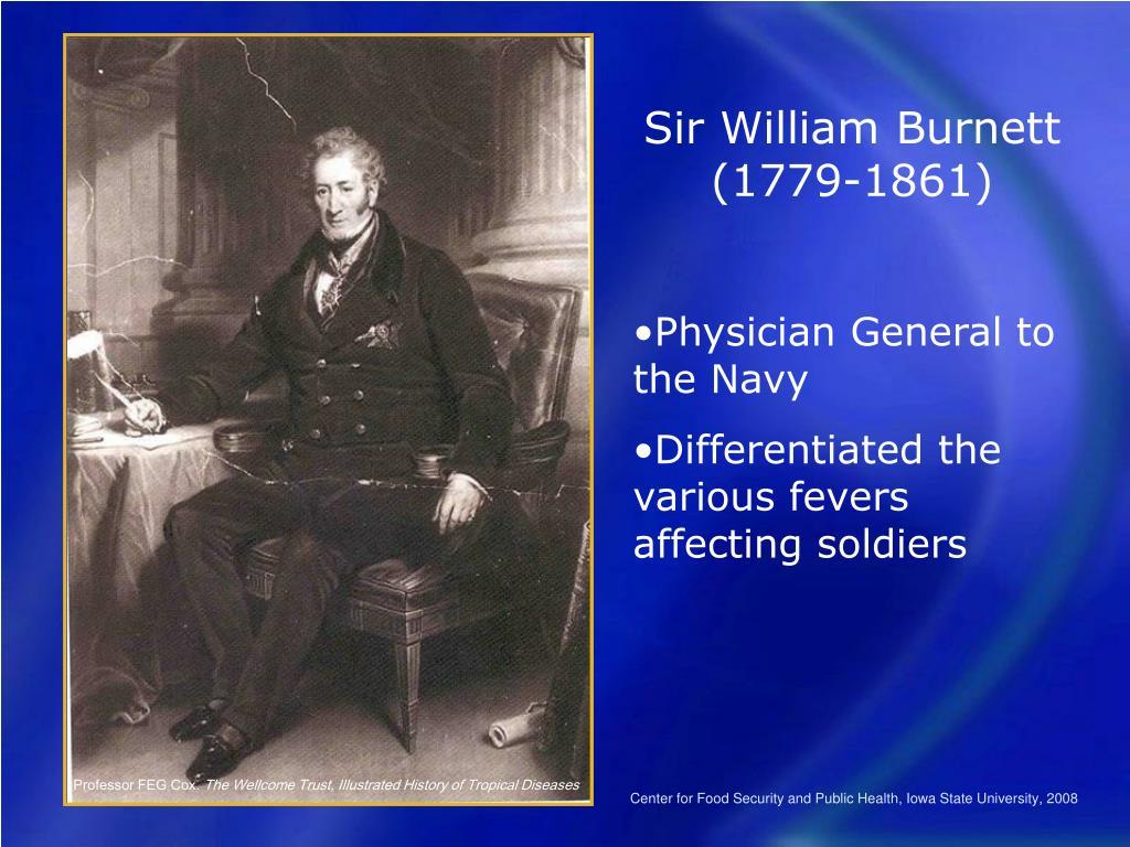 Sir William Burnett (1779-1861)
