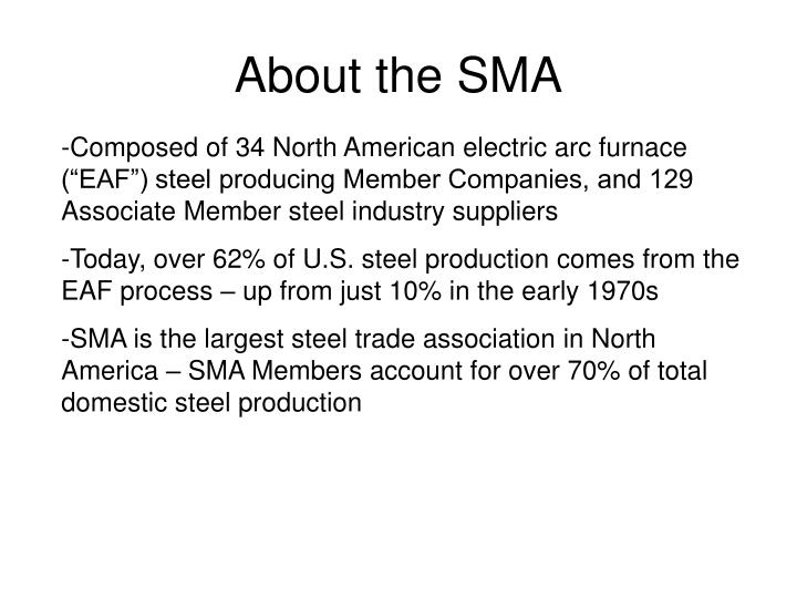 About the sma
