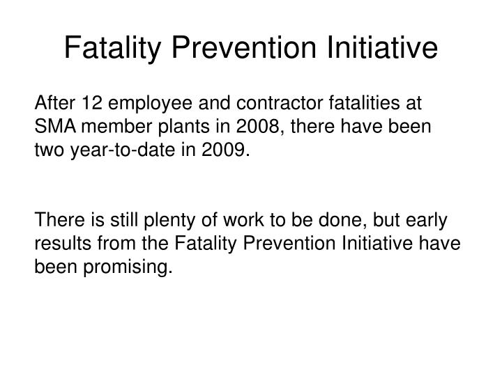 Fatality Prevention Initiative