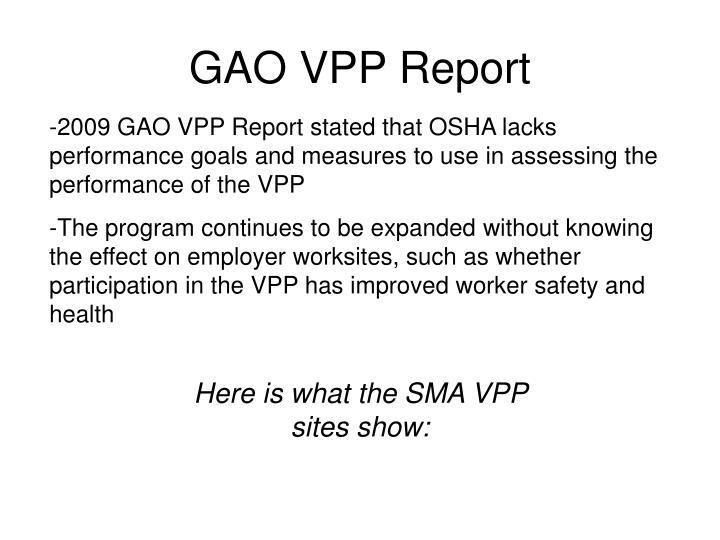 GAO VPP Report