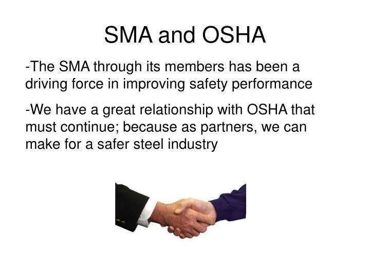 SMA and OSHA