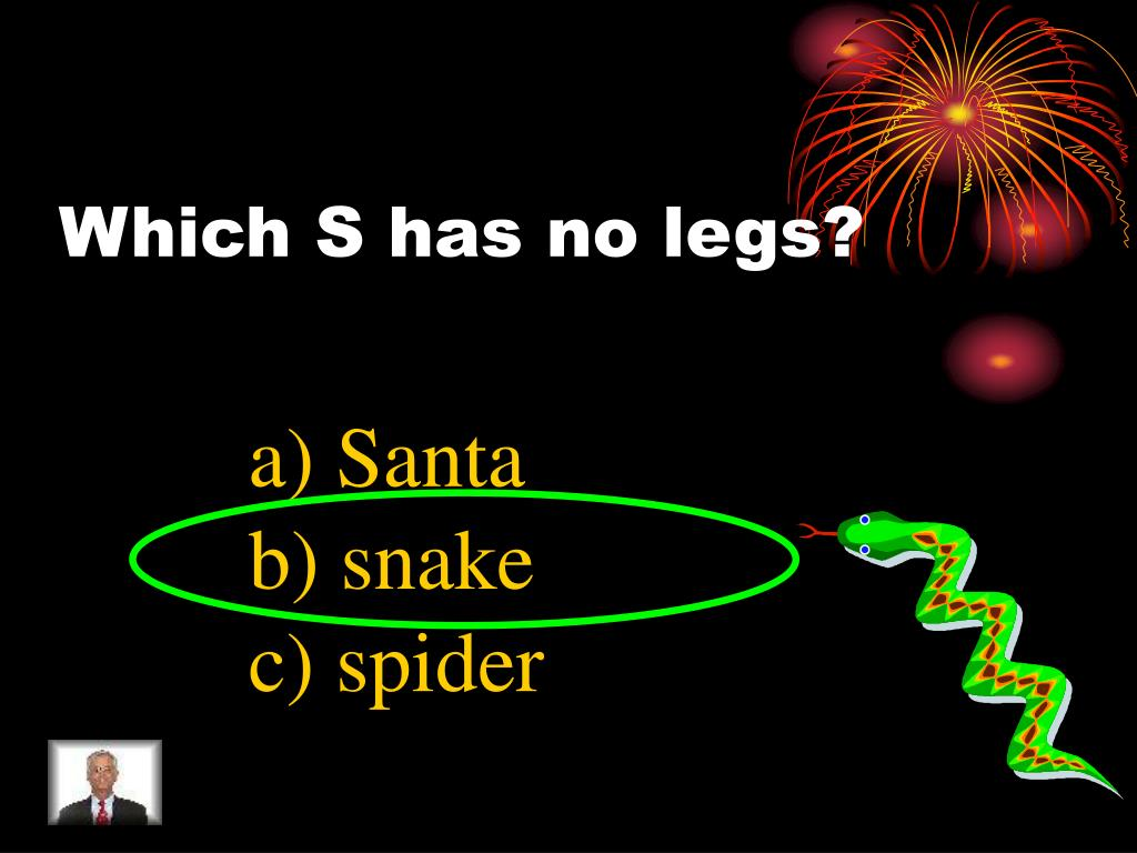 Which S has no legs?