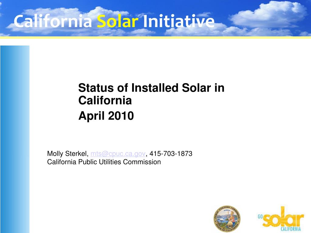 molly sterkel mts@cpuc ca gov 415 703 1873 california public utilities commission l.
