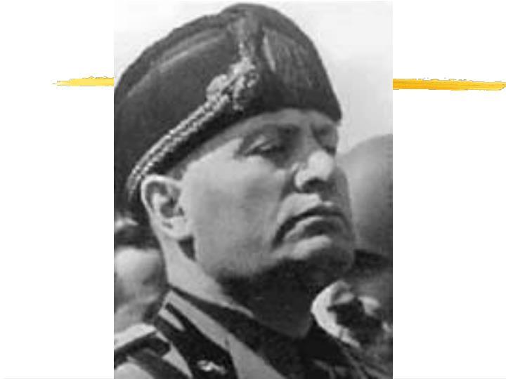 Il fascismo dalle origini alla ii guerra mondiale