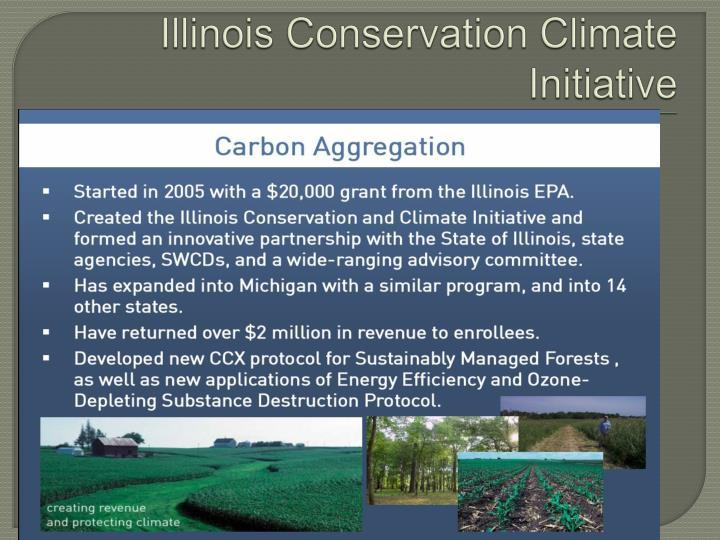 Illinois Conservation Climate Initiative