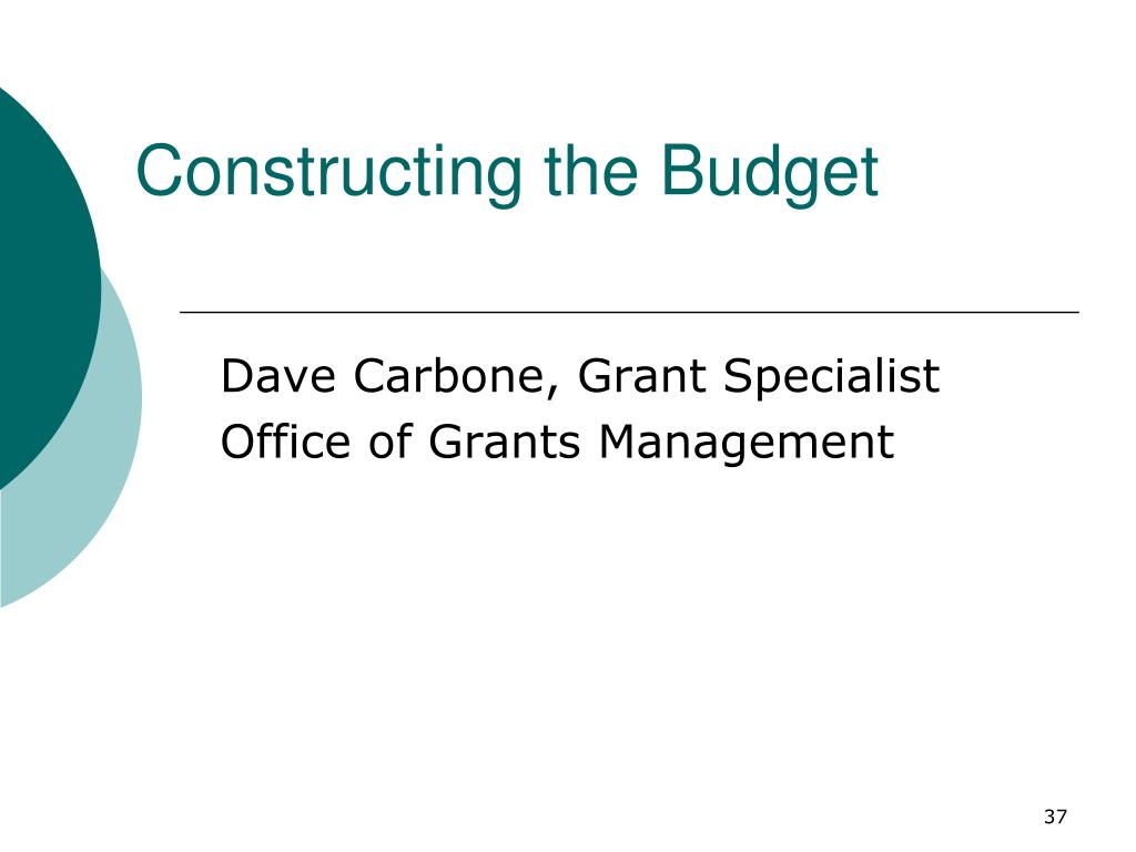 Constructing the Budget