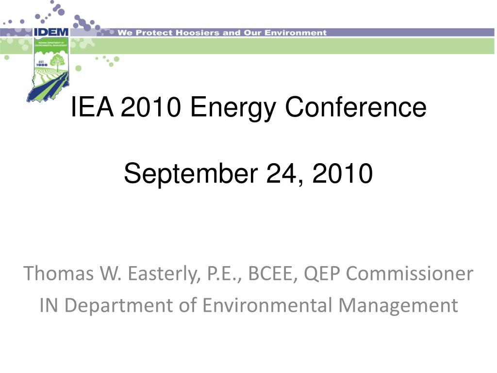 iea 2010 energy conference september 24 2010 l.