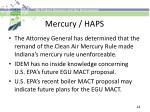 mercury haps