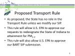 proposed transport rule3