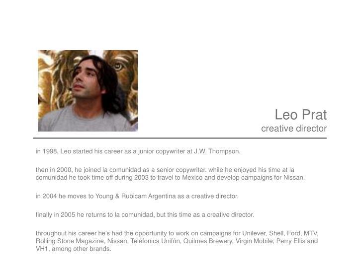 Leo Prat