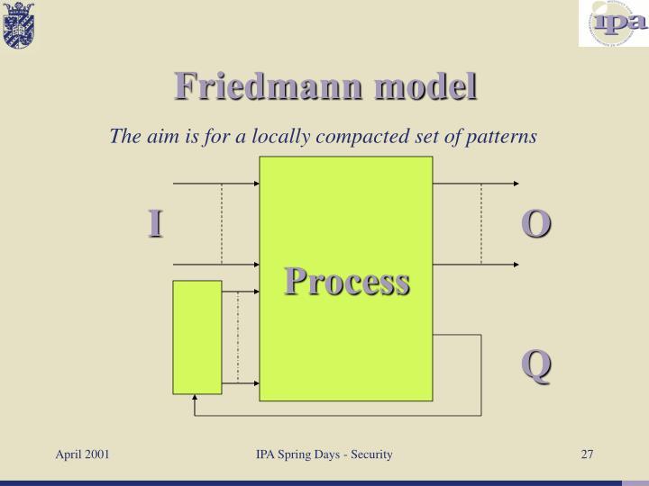 Friedmann model