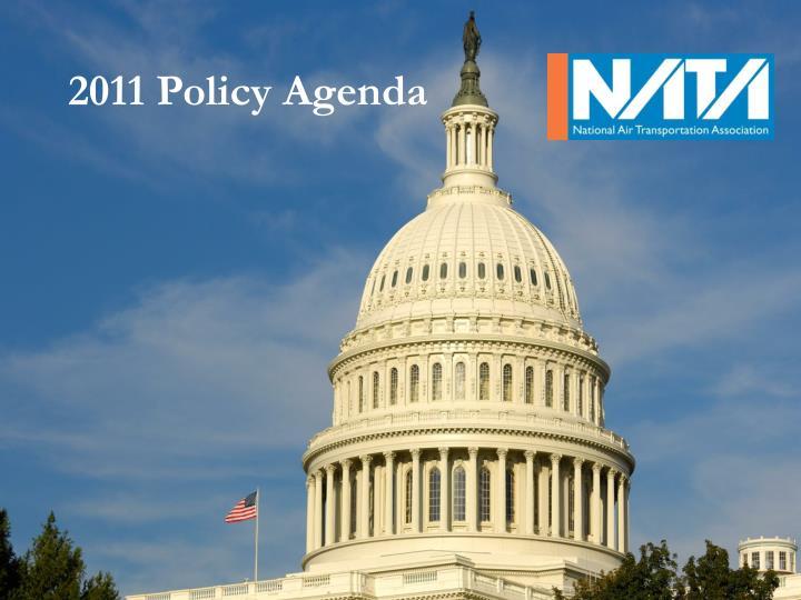 2011 Policy Agenda