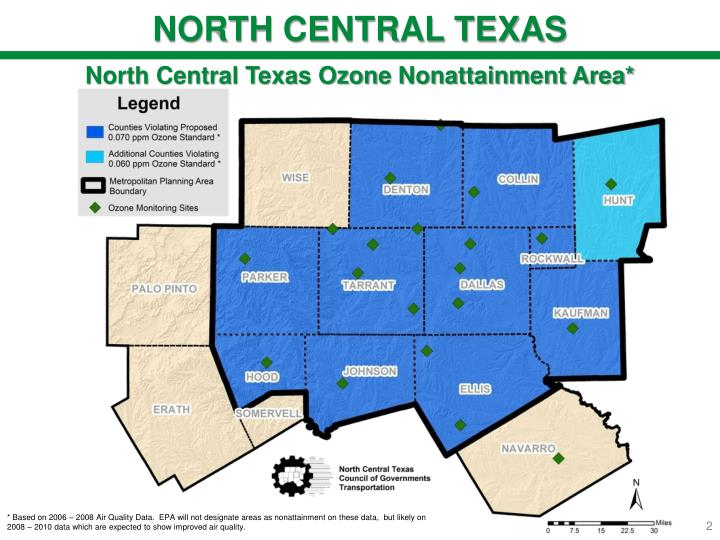 NORTH CENTRAL TEXAS
