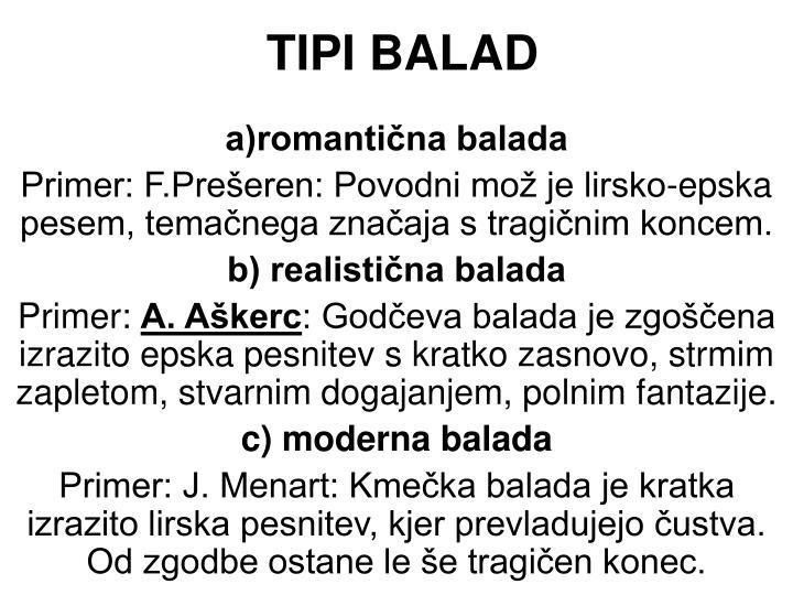 TIPI BALAD