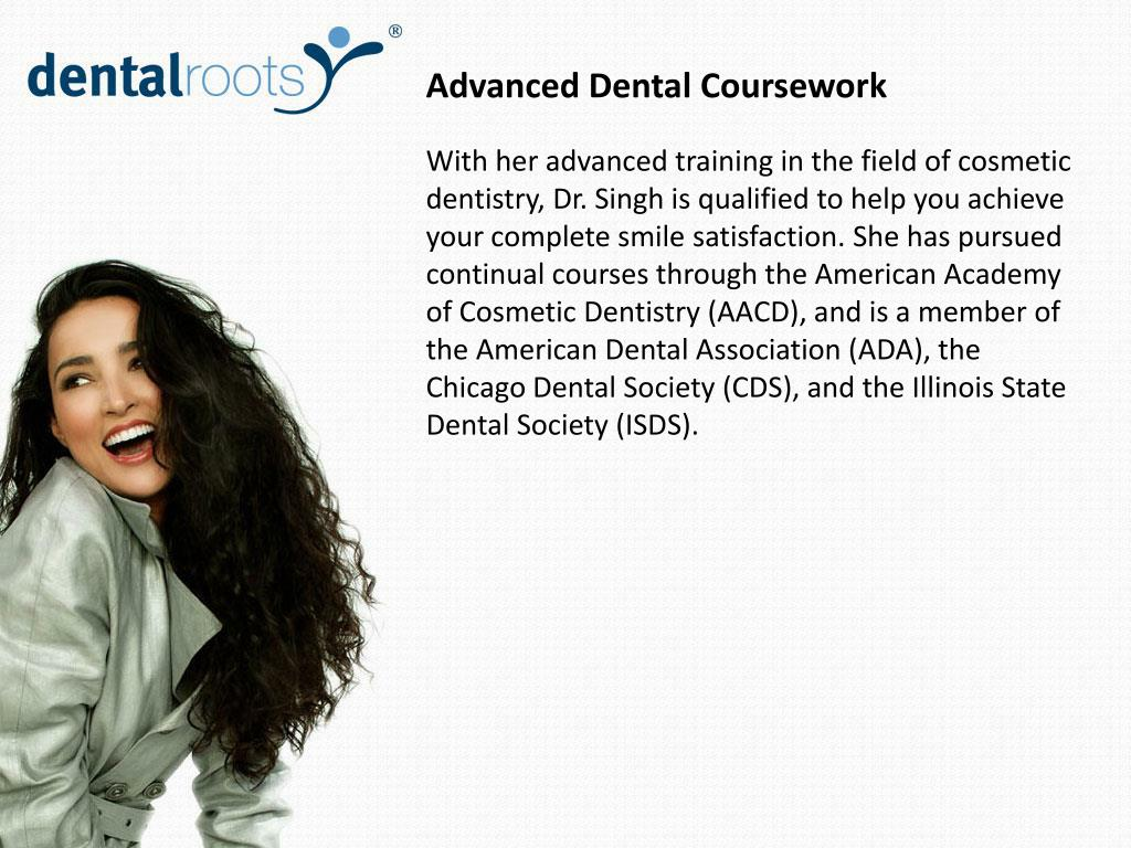 Advanced Dental Coursework