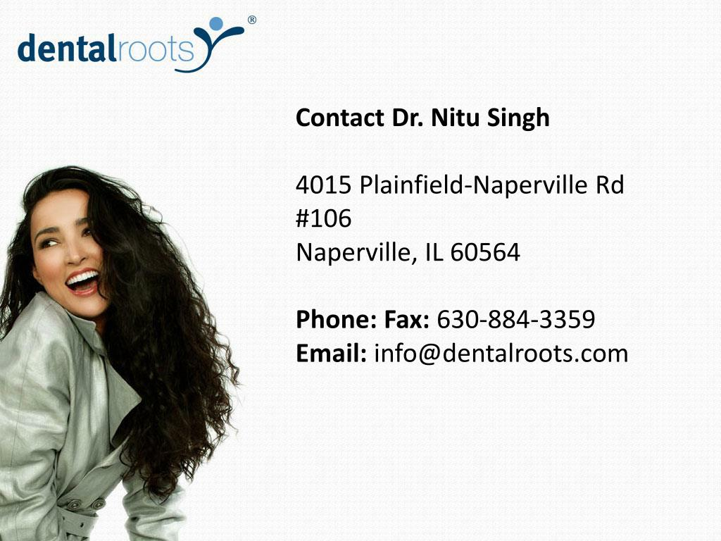 Contact Dr. Nitu Singh