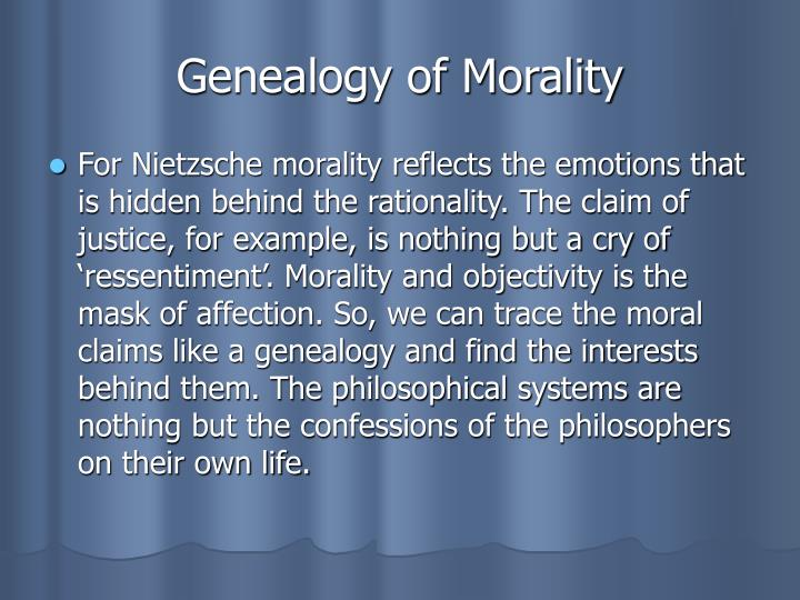 on the genealogy of morality friedrich In the preface to his classic work on the genealogy of morality, nietzsche wrote: what if a regressive trait lurked in the good man, likewise a danger, an.