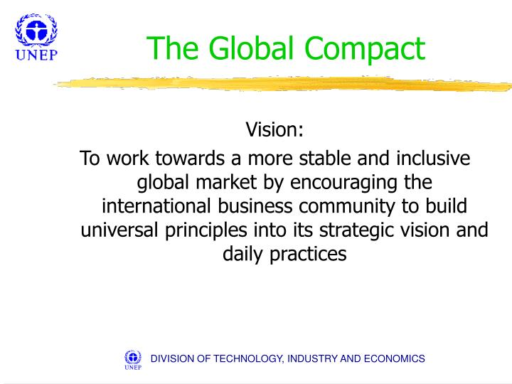 The global compact1
