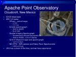 apache point observatory cloudcroft new mexico