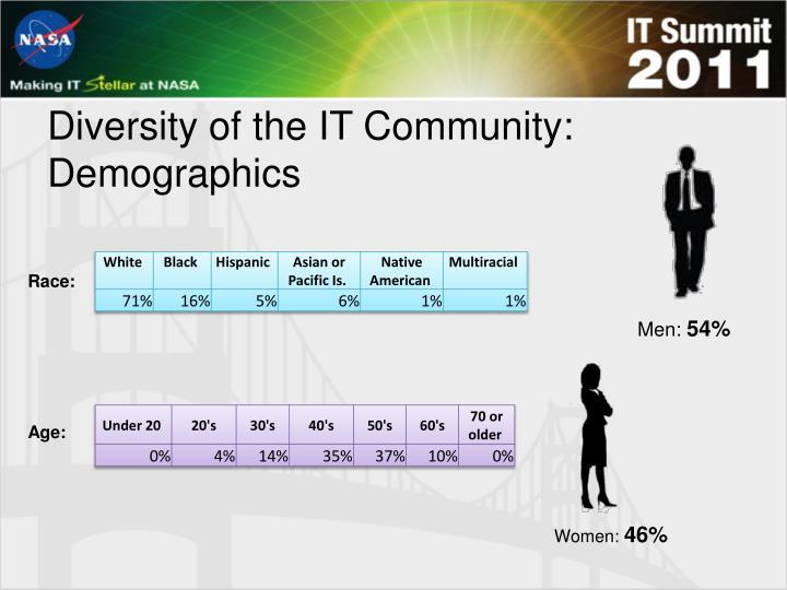 Diversity of the IT Community: