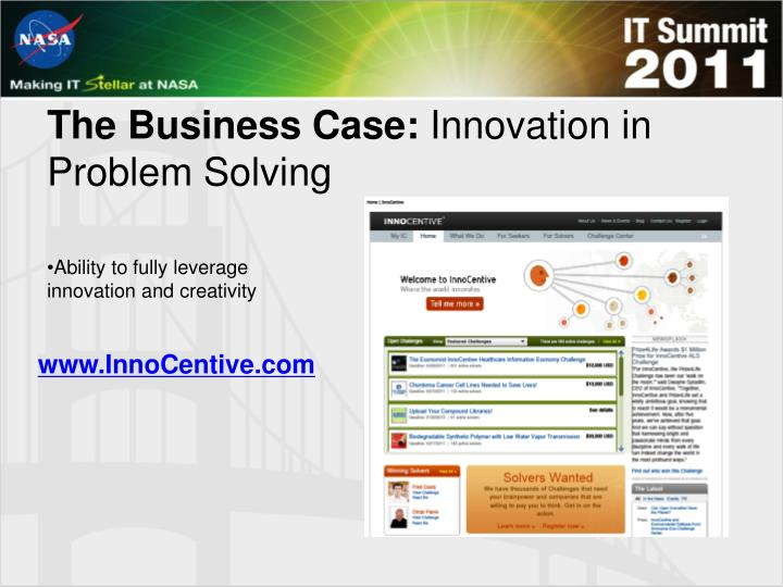 The Business Case: