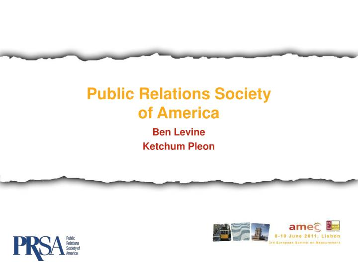 Public Relations Society