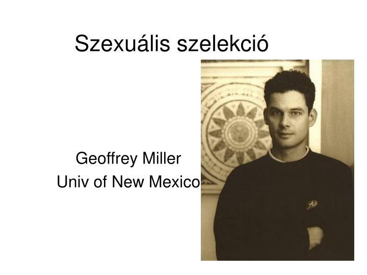 Szexuális szelekció