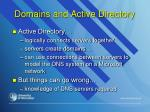 domains and active directory