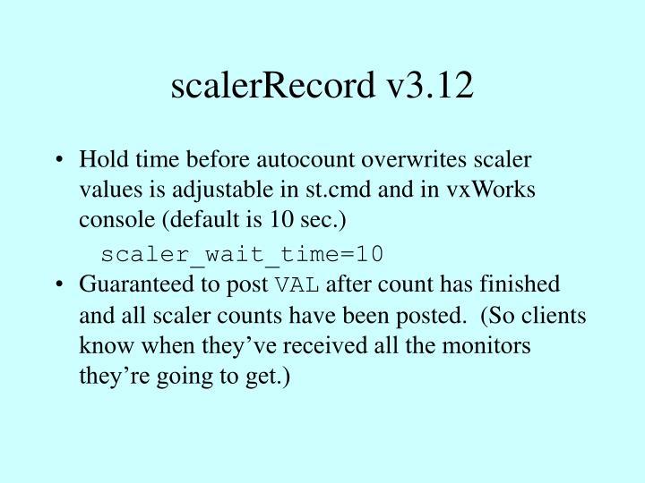 scalerRecord v3.12