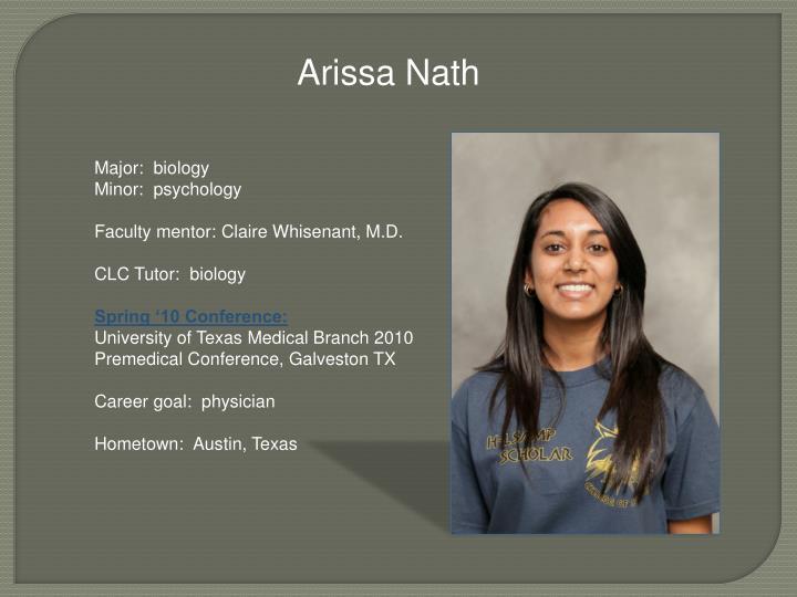 Arissa Nath