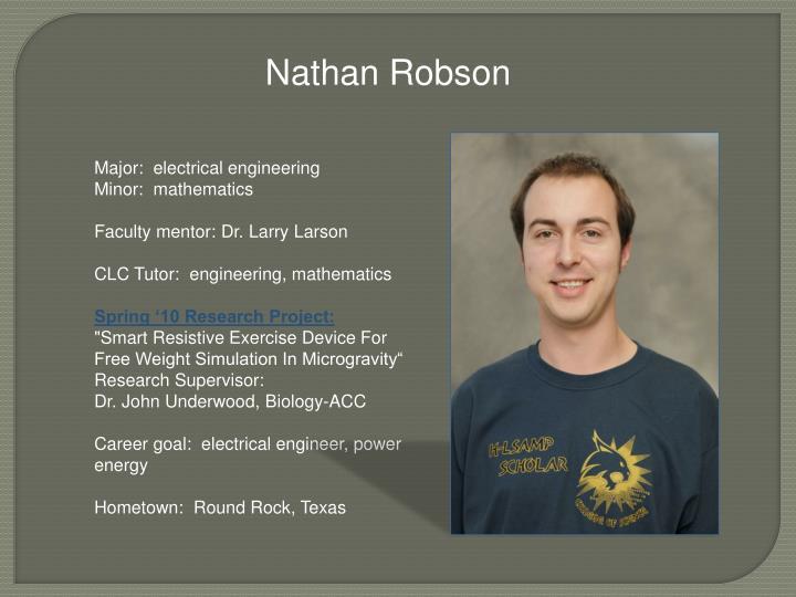 Nathan Robson