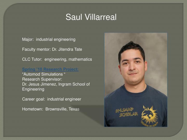 Saul Villarreal