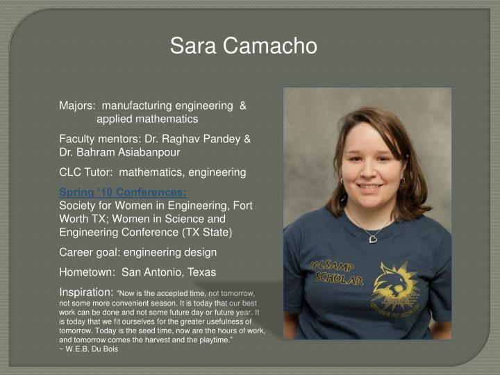Sara Camacho