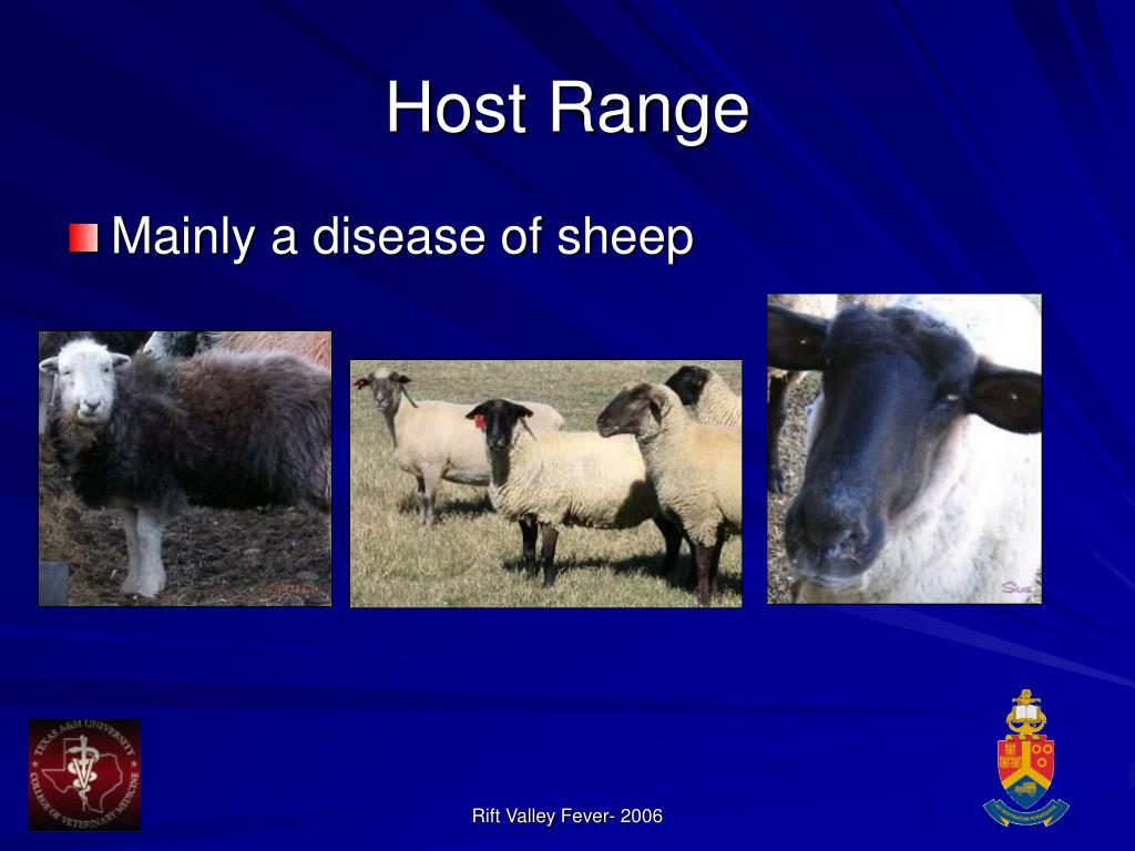 Host Range