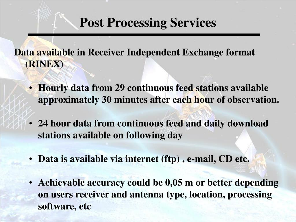 Post Processing Services