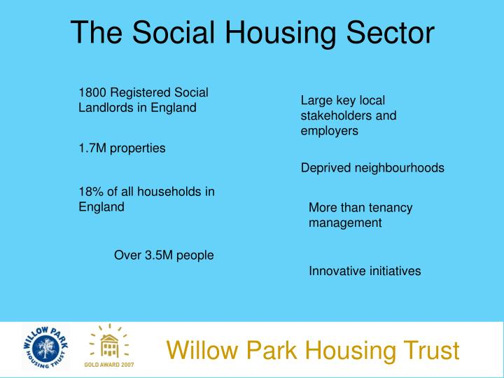 The social housing sector