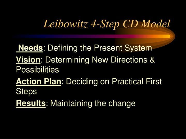 Leibowitz 4-Step CD Model