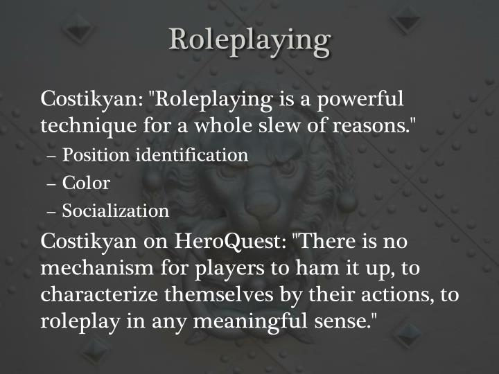 Roleplaying