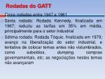rodadas do gatt1