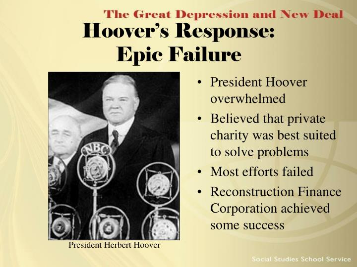 Hoover's Response: